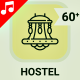 Hostel Hotel Booking Icons - VideoHive Item for Sale