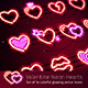 Valentine Icons with Glitter - GraphicRiver Item for Sale