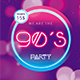 90´s Party Flyer Template - GraphicRiver Item for Sale