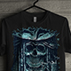 Awesome Design T-Shirt with Pirates Skull Theme