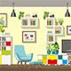 Modern Living Room - GraphicRiver Item for Sale