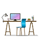 Modern Work Station - GraphicRiver Item for Sale