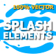 Splash Animated Elements - VideoHive Item for Sale