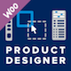 Visual Product Designer/Customizer for Woocommerce - Build Your Own