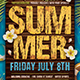 Summertime Flyer Template V3 - GraphicRiver Item for Sale