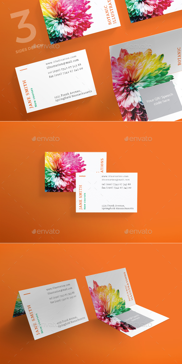 Illustration Lessons Business Card - Creative Business Cards