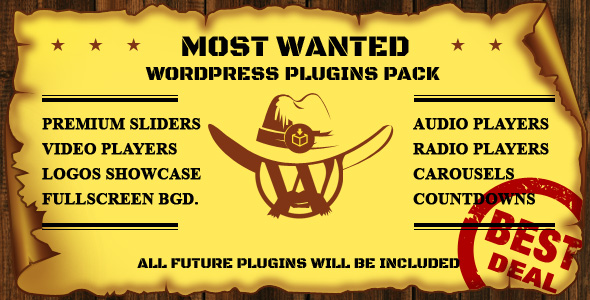 Most Wanted WordPress Plugins Pack nulled free download