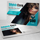 Beauty Salon & Fashion Post Card - GraphicRiver Item for Sale