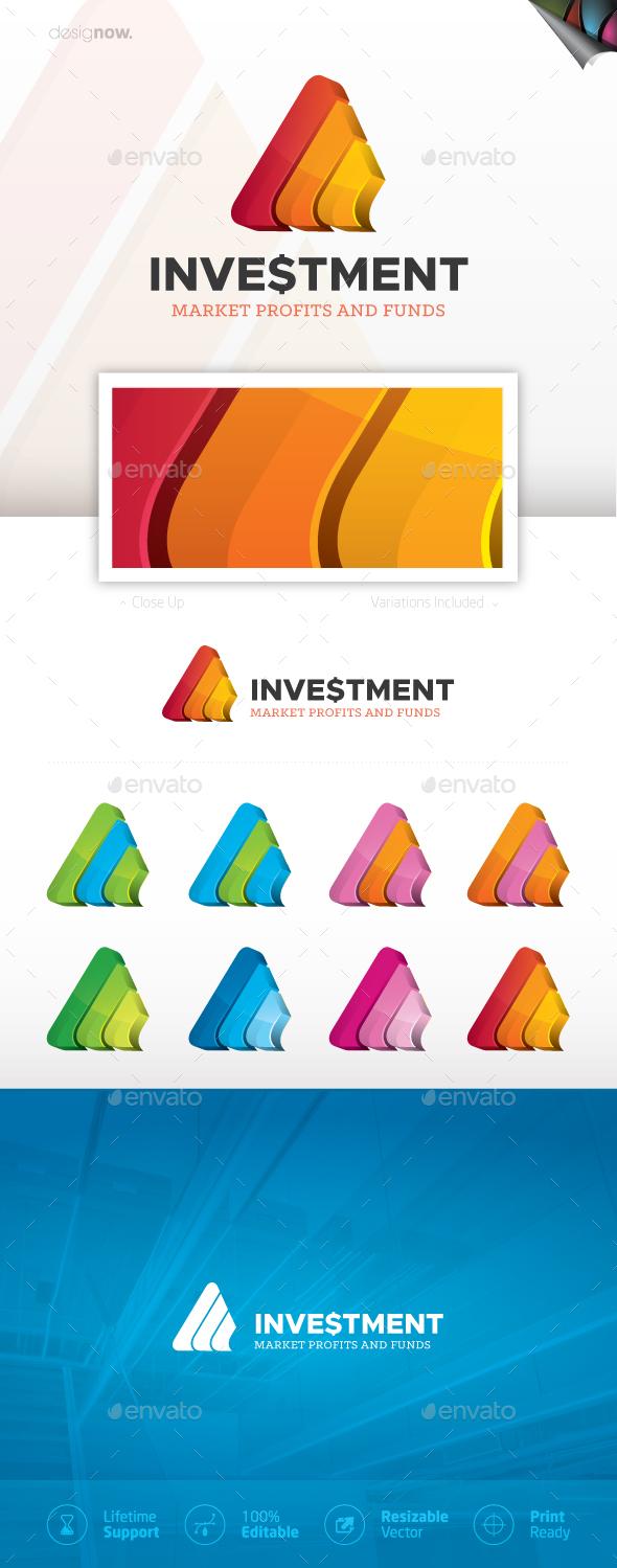 Investment Logo 3D - Company Logo Templates