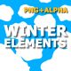 Flash FX WINTER Elements - VideoHive Item for Sale