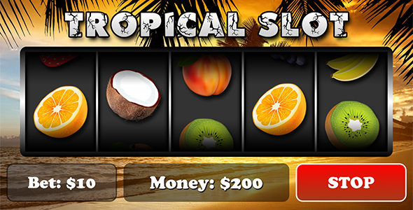 Tropical Slot with AdMob - CodeCanyon Item for Sale