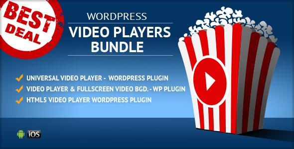HTML5 Video Players WordPress Plugins Bundle - CodeCanyon Item for Sale