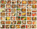 Set of take away food boxes at white background - PhotoDune Item for Sale