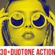 30+ Duotone Photoshop Action
