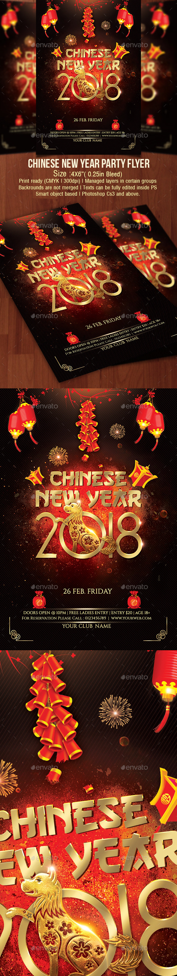 Chinese New Year 2018 - Clubs & Parties Events