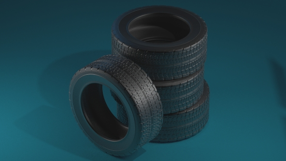 Tires - 3DOcean Item for Sale