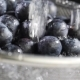 Water Flows on Blueberry - VideoHive Item for Sale