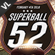 Superball Football Poster / Flyer V01 - GraphicRiver Item for Sale