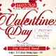 Valentines Day Couple Nigth-Flyer Template - GraphicRiver Item for Sale