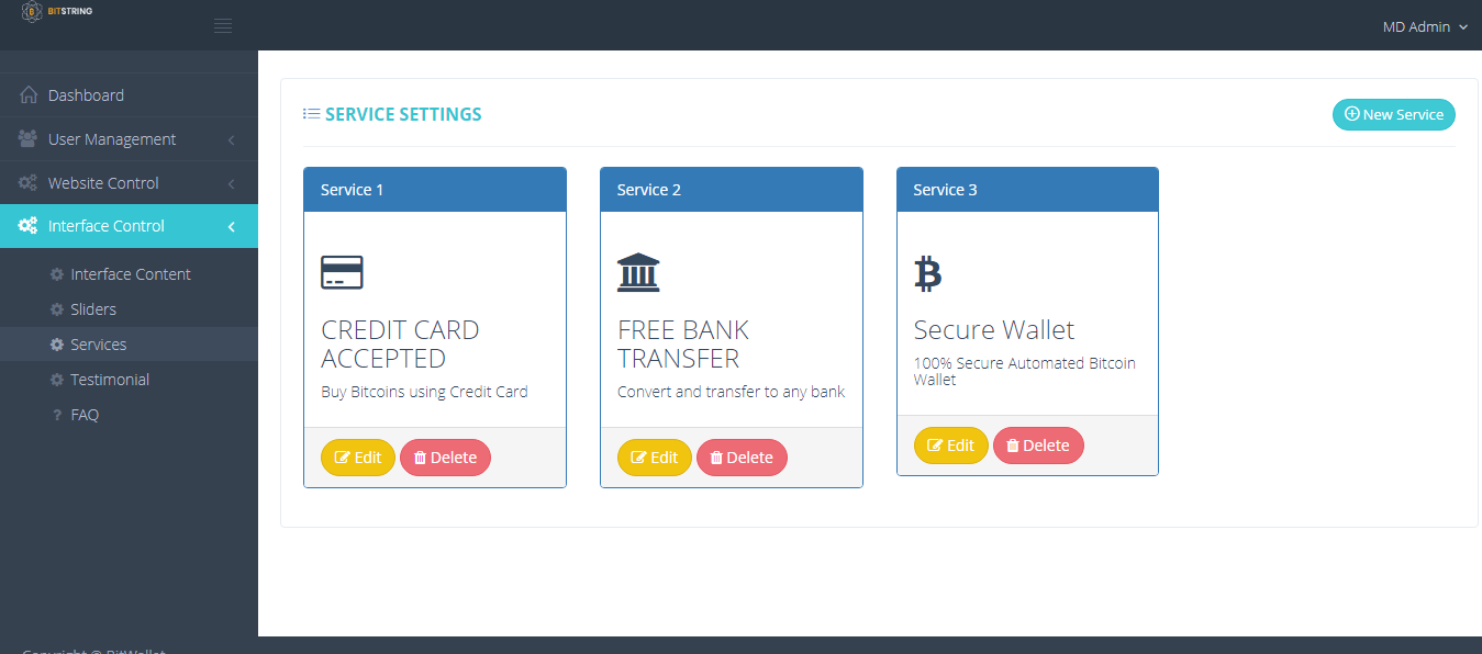 Bitcoin wallet database