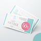 Gift Voucher Mockups - GraphicRiver Item for Sale