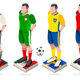 World Cup Football Team Vector - GraphicRiver Item for Sale