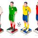 World Cup Football Team Vector