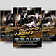 Boxing Night Flyer Template