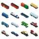 Isometric Set of Railway Trains - GraphicRiver Item for Sale