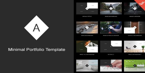 Andazi - Minimal Portfolio Template - Creative Site Templates