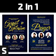 Gospel Explosion and Prayer Conference Church Flyer - GraphicRiver Item for Sale