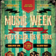 Music Week Flyer / Poster - GraphicRiver Item for Sale