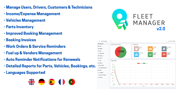 Fleet Manager - CodeCanyon Item for Sale