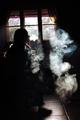 The girl smoke electronic cigarette - PhotoDune Item for Sale