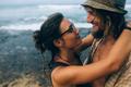 couple on a tropical beach - PhotoDune Item for Sale