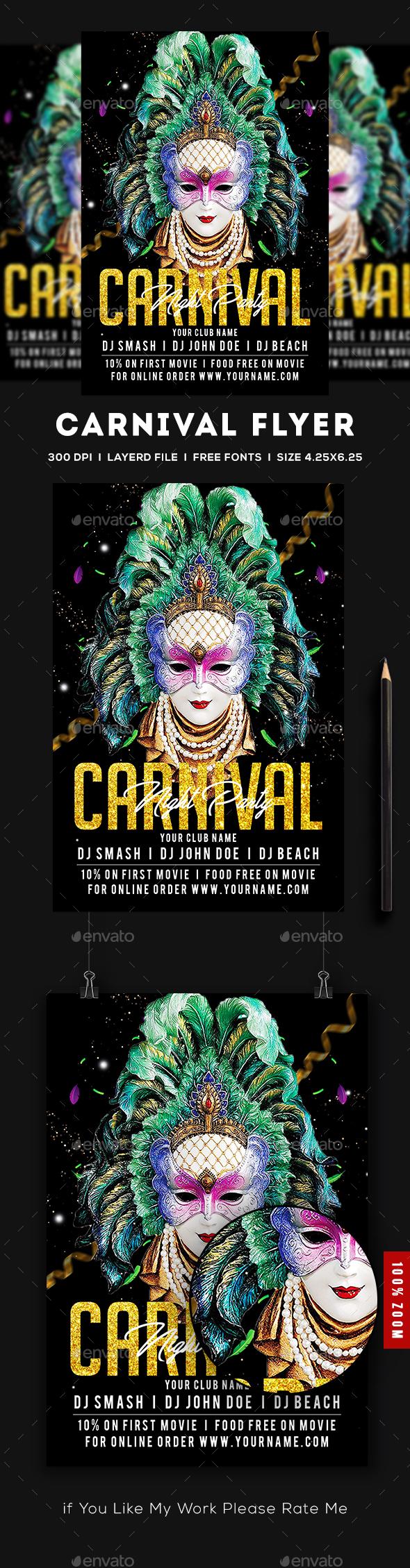 Carnival Flyer - Flyers Print Templates