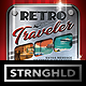 Retro Travel Event Flyer Template