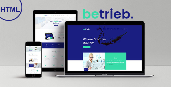 Betrieb - Responsive Business Agency HTML5 Template