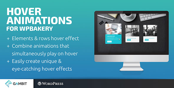 Hover Animations for WPBakery Page Builder (formerly Visual Composer) - CodeCanyon Item for Sale