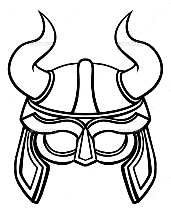 Viking Warrior Helmet - Sports/Activity Conceptual