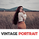 10 Vintage Portrait Lightroom Presets - GraphicRiver Item for Sale