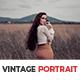 10 Vintage Portrait Lightroom Presets