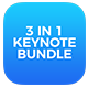 BUNDLE 3in1 - Multipurpose Keynote Presentations - GraphicRiver Item for Sale