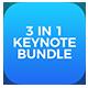 BUNDLE 3in1 - Multipurpose Keynote Presentations