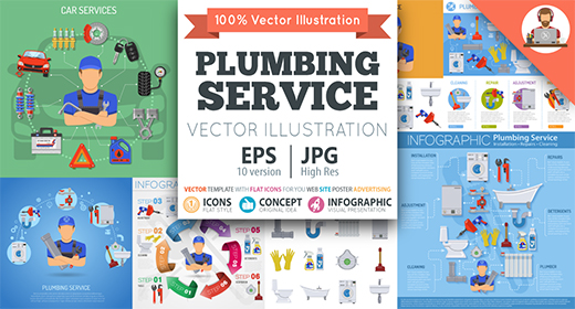 Plumbing Services Themes