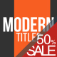 Modern Titles 2 - VideoHive Item for Sale