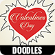 Valentines day doodles - VideoHive Item for Sale