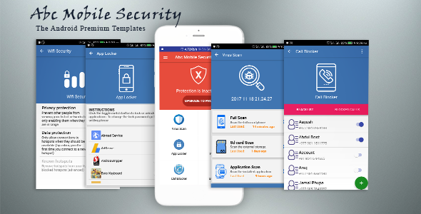 Abc Mobile Security - Antivirus, Anti Theft, Wifi Security, Call Blocker, App Locker, Battery Saver Nulled Scripts