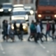 People Crossing the Crossroad in the Crowded City Center - VideoHive Item for Sale