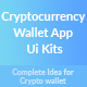 Cryptocurrency Wallet App Ui Kits - GraphicRiver Item for Sale
